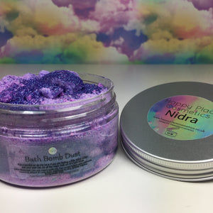 Nidra Bath Bomb Dust