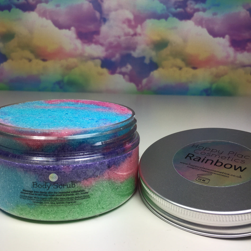 Rainbow Body Scrub
