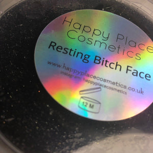 Resting Bitch Face Shower Jelly