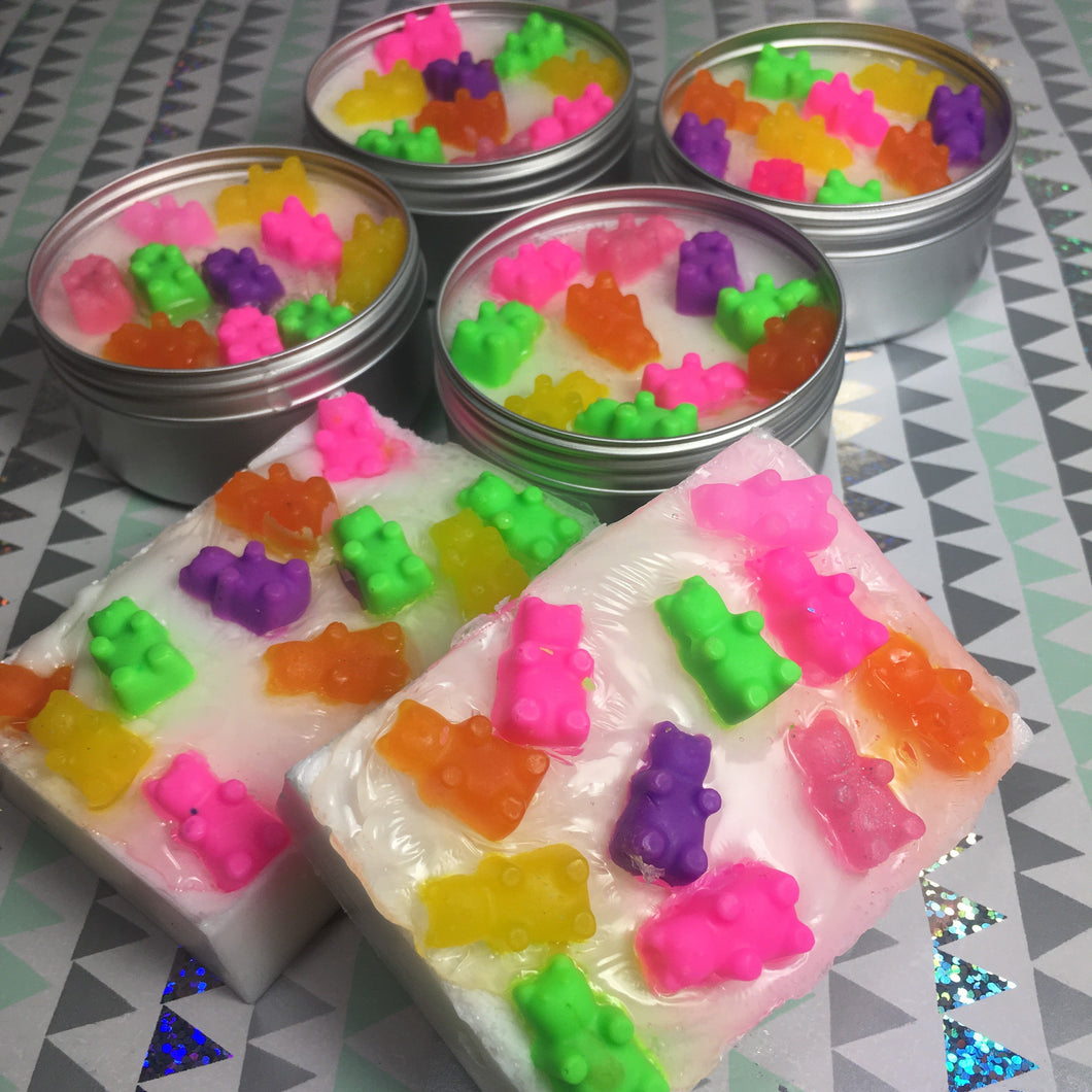 Gummy Bear Rainbow Makeup Brush Cleanser