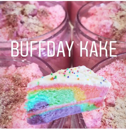 Buffday Kake Bath Bomb Dust