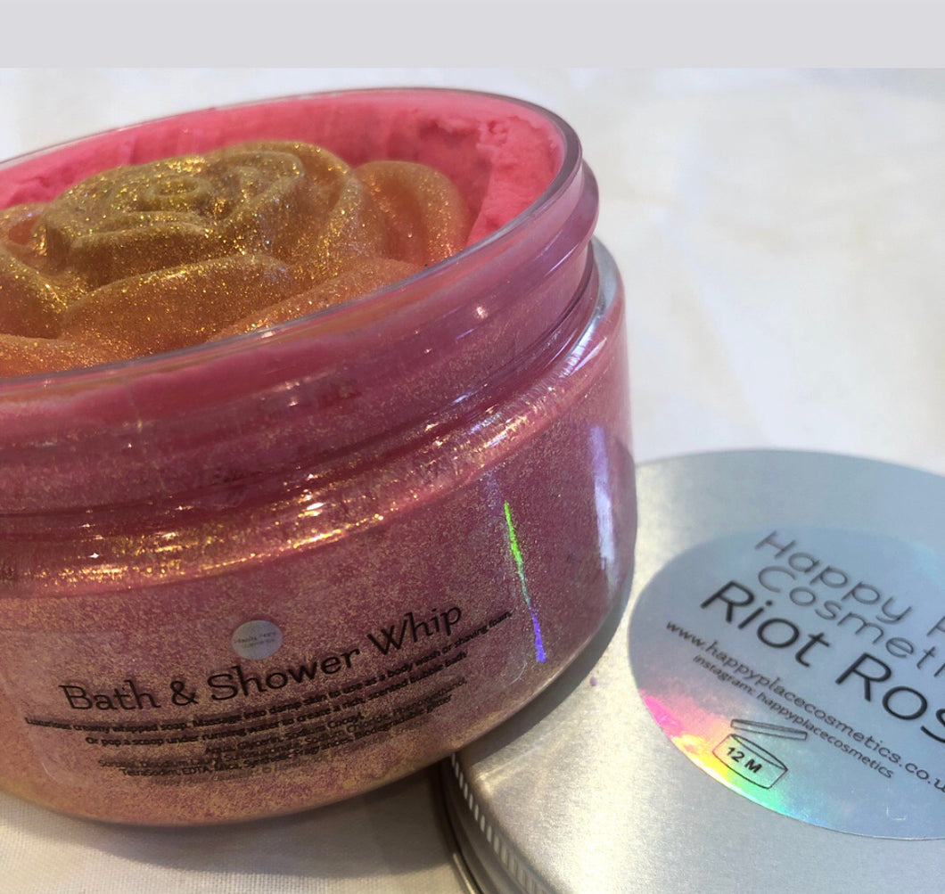 Riot Rose Bath and Shower Whip