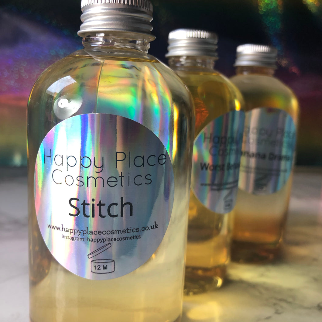 Stitch Bath and Shower Oil