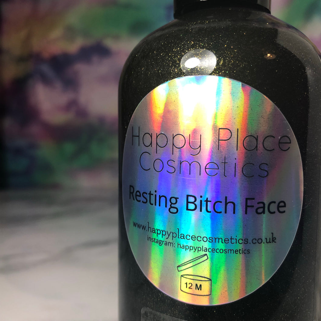 Resting Bitch Face Shower Gel