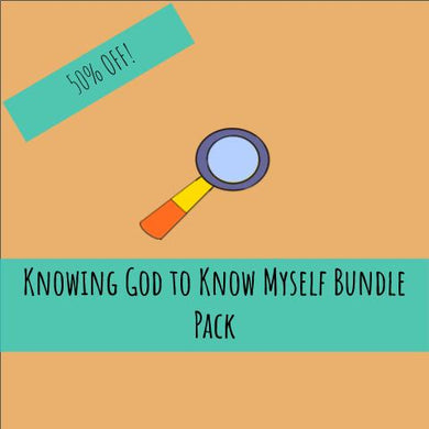 Knowing God to Know Myself Package Deal | 50% OFF