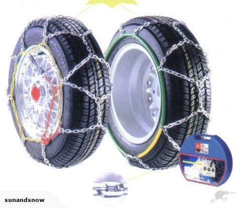 Alpine Star Diamond Pattern EasyFit SnowChains 065 - Sun And Snow