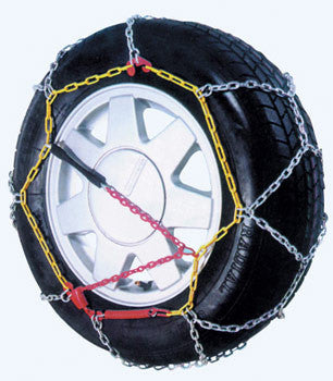 Alpine Star Diamond Pattern EasyFit Snow Chains 095 - Sun And Snow