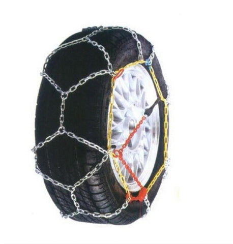 Alpine Star Diamond Pattern EasyFit Snow Chains 120 - Sun And Snow