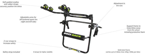 BEETLE 4×4 – SPARE TIRE RACK