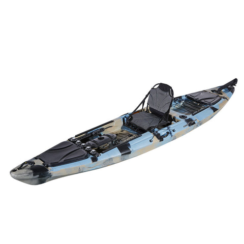 Coolkayak BIG Pro Angler 395 - Sun And Snow