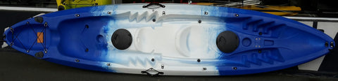 Coolkayak Oceanus II 2 + 1 Kayak - Sun And Snow