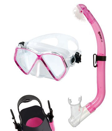 Mares Pirate Junior Mask & Snorkel Set - Sun And Snow