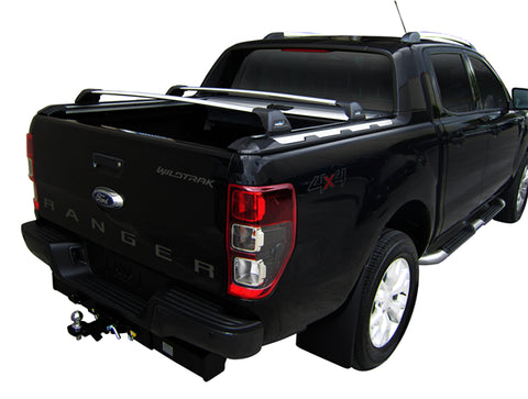 WhispBar S11w FlushBar Rack Rear Cargo Ford Ranger WildTrak