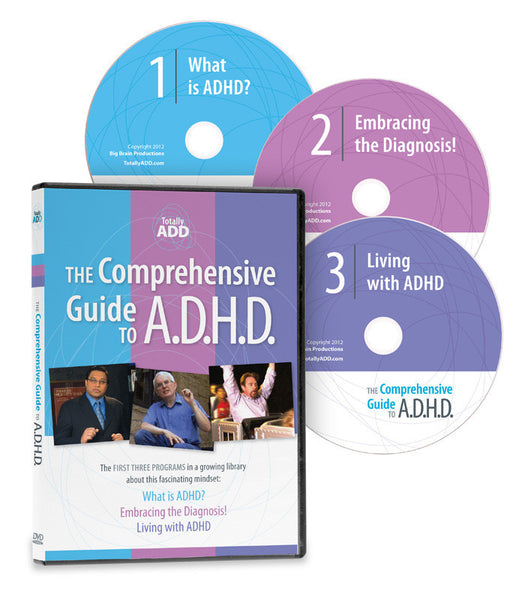 The Comprehensive Guide to ADHD (3 DVD Boxed Set)