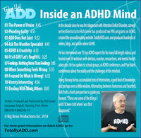 Inside an ADHD Mind (Audio CD)