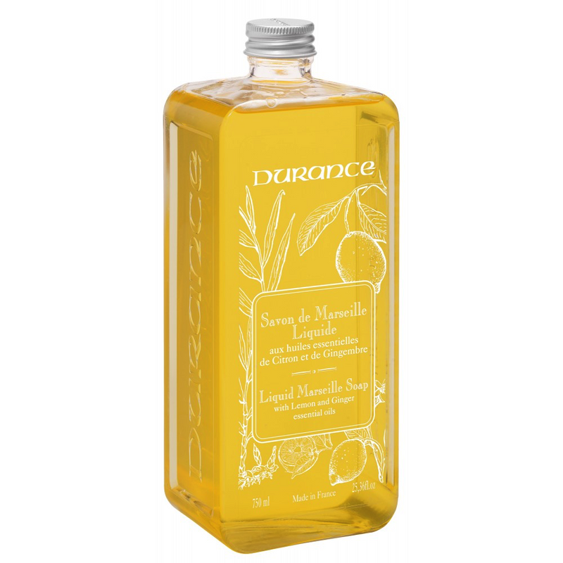 Marseille 750ml Liquid Soap Lemon and Ginger