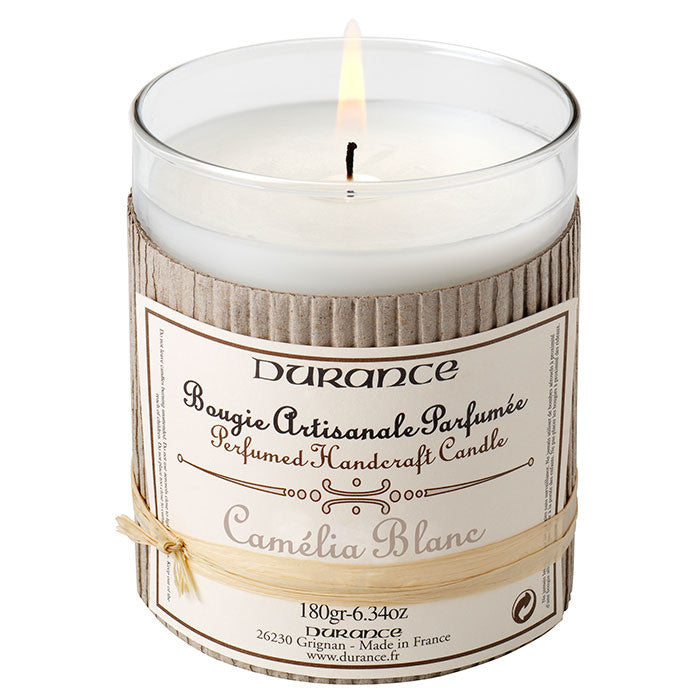 Scented Candle White Camellia