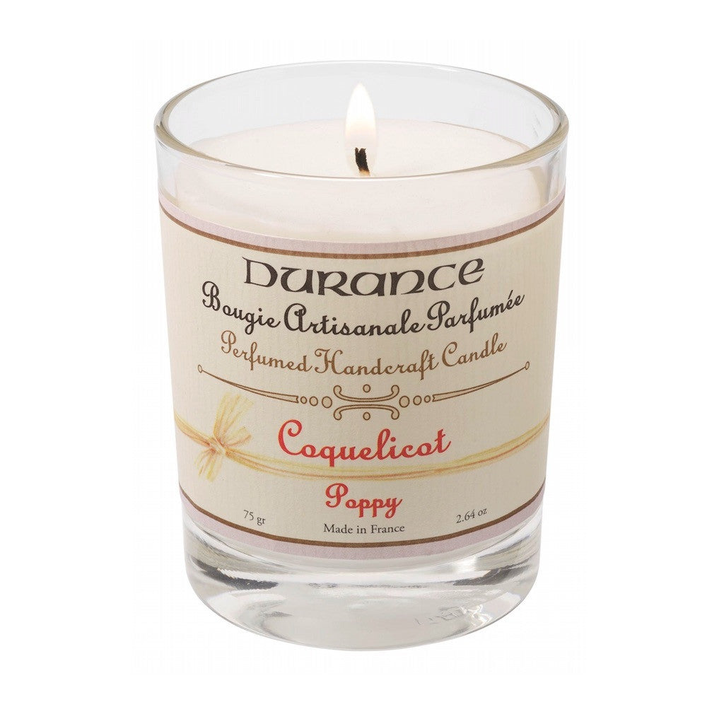 Scented Candle 75g - Poppy