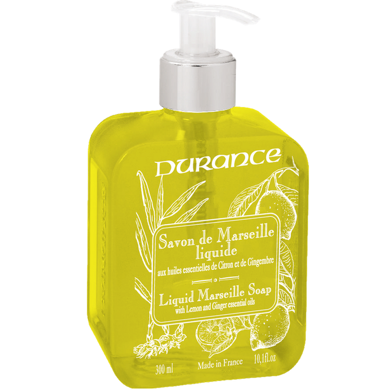 Marseille 300ml Liquid Soap - Lemon and Ginger