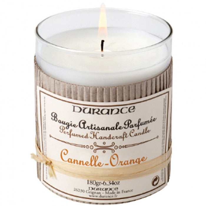 Scented Candle Orange Cinnamon