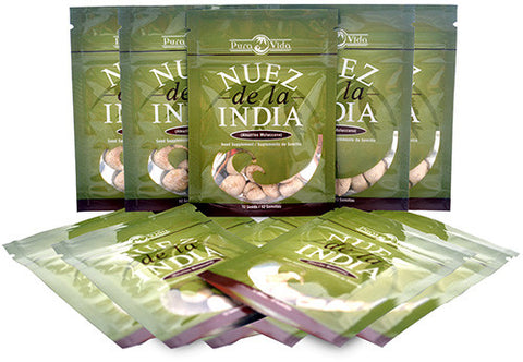 20 Packs - Wholesale Nuez de la India ($6.50 each)