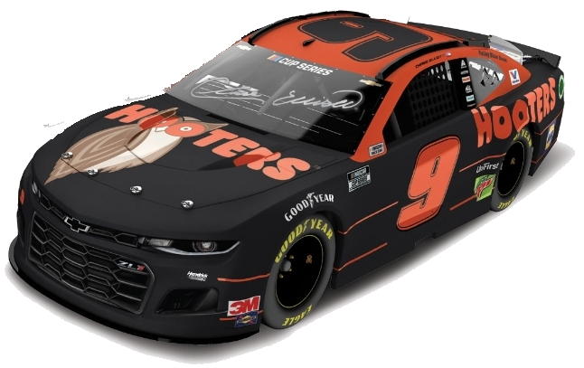 **PRE-ORDER** 2020 Hooters **NIGHT OWL** Autographed Elite 1:24 Die-Cast