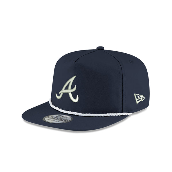 **PRE-ORDER** Dark Blue Chase Elliott x Atlanta Braves New Era Golfer Hat