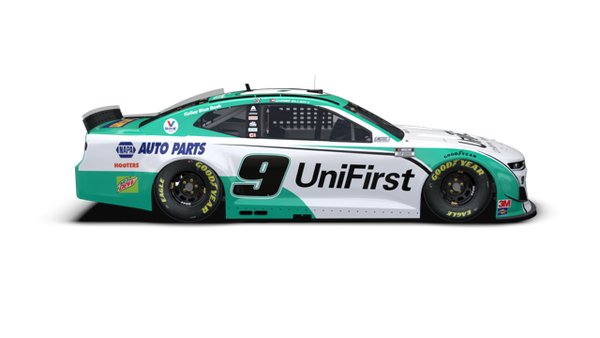 LIGHT UP **PRE-ORDER** 2020 UniFirst **ALL-STAR** **AUTOGRAPHED** RACE WIN STANDARD HOOD OPEN 1:24 Die-Cast