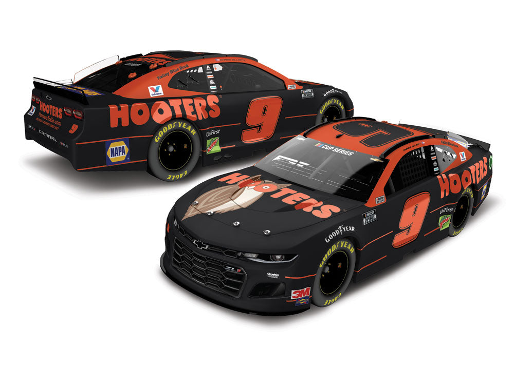 **PRE-ORDER** 2020 Hooters **NIGHT OWL** STANDARD HOOD OPEN 1:24 Die-Cast
