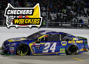 **PRE-ORDER** 2017 MARTINSVILLE CHECKERS OR WRECKERS **AUTOGRAPHED** Elite 1:24 Die-Cast