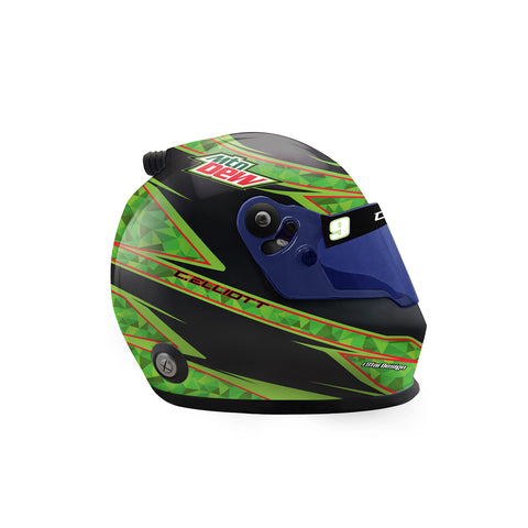 2020 MOUNTAIN DEW *MINI* Collectible Replica Helmet