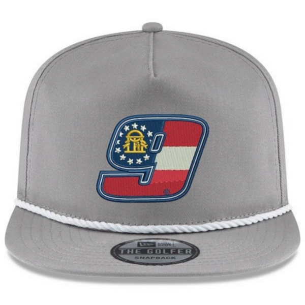 GA 9 New Era Golfer Hat