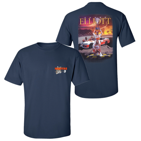 **PRE-ORDER** HOOTERS ICONIC NAVY TEE
