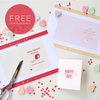 Valentine's Day FREE Downloadable Cards