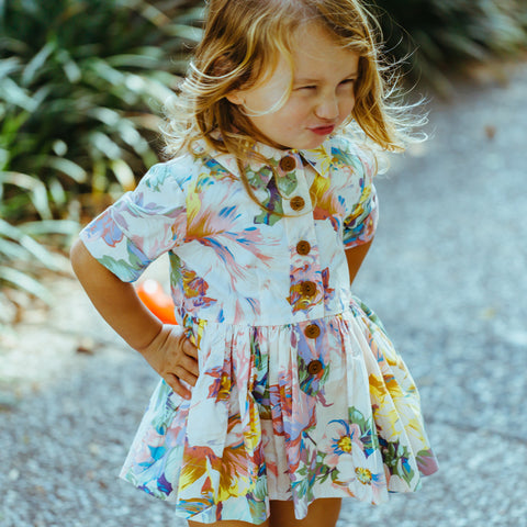 Doris Hopscotch Dress