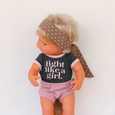 Fight Like A Girl Doll Tee