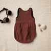 Cotton romper for baby and toddler