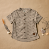 Little boys button up shirt