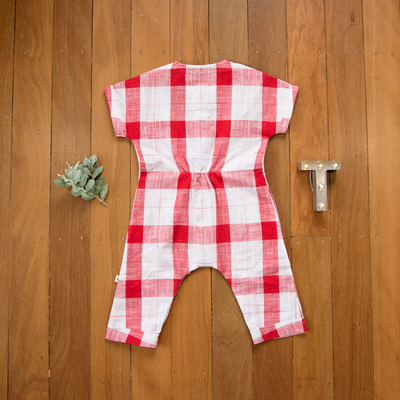 Christmas romper for little boys