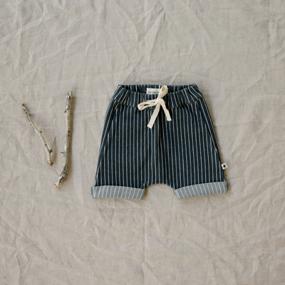 Comfortable Stretch Cotton Shorts For Little Boys & Baby Boys