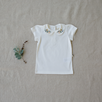 Margerie Collared Tee