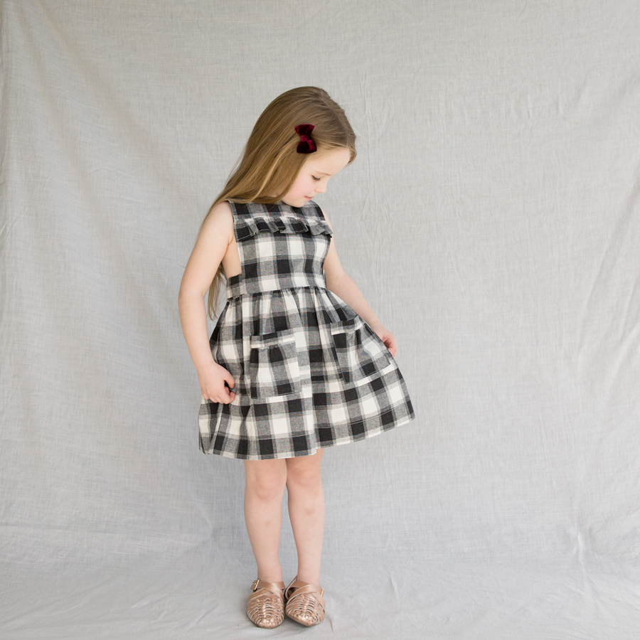 IMPERFECT Odette Bib Front Dress