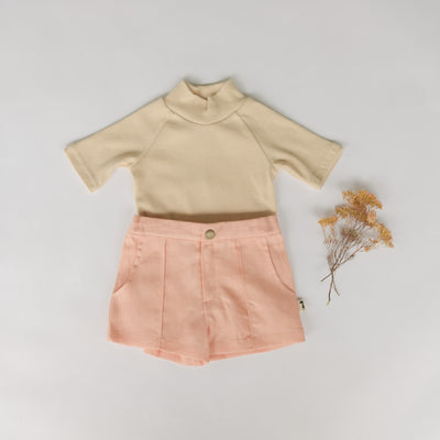 Cute girls basic turtle neck and layering skivvy. Little girls styles perfect for winter. Cute girls winter clothes by Lacey Lane & The Lane and Co