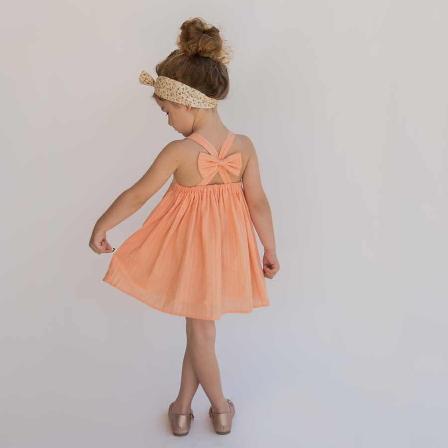 VIP Sunset Bow Back Dress