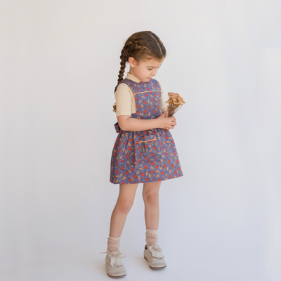 Cute vintage style girls dress by lacey lane. Perfect for special events girls dress. Shop lacey lane girls dress