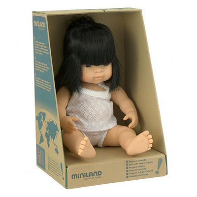 Girl Miniland Dolls
