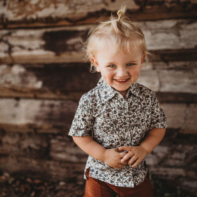 Boys Button Up Shirt | Australian Kids Clothing Label | My Brother John