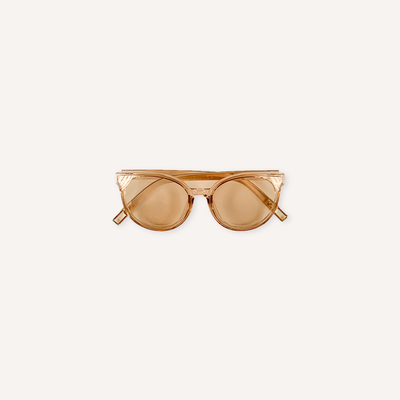 Clear Brown Sunglasses