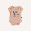 Fight Like A Girl Romper
