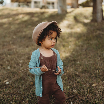Little Boys Cardigan | Australian Designed | Nash Lazybones Cardy